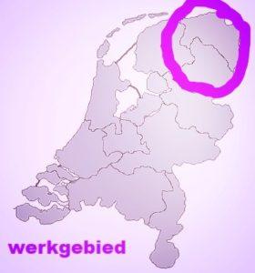 werkgebied Kroon Verhuis-en Opruimservice